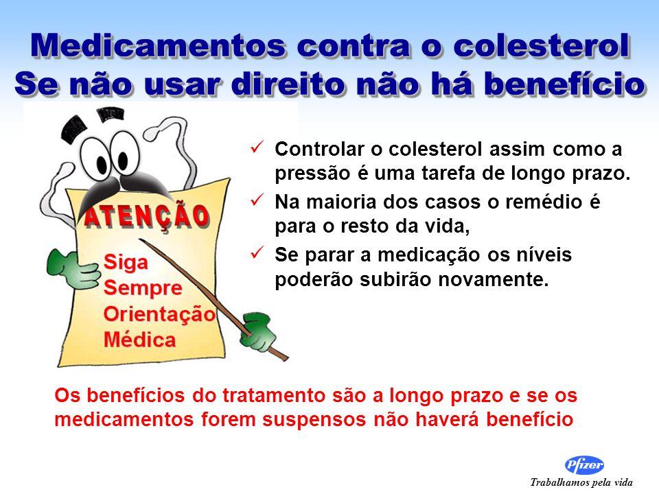 Medicamentos contra o colesterol Se não usar direito não há benefício