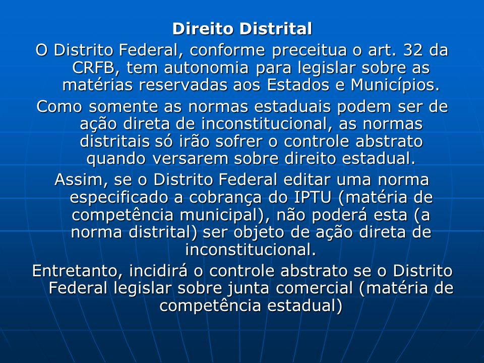Direito Distrital
