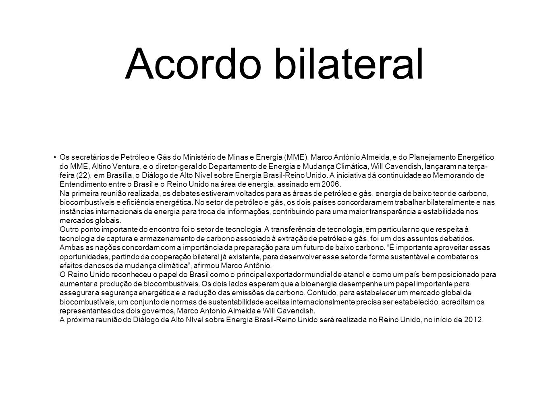 Acordo bilateral