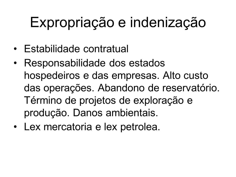 Expropriação e indenização