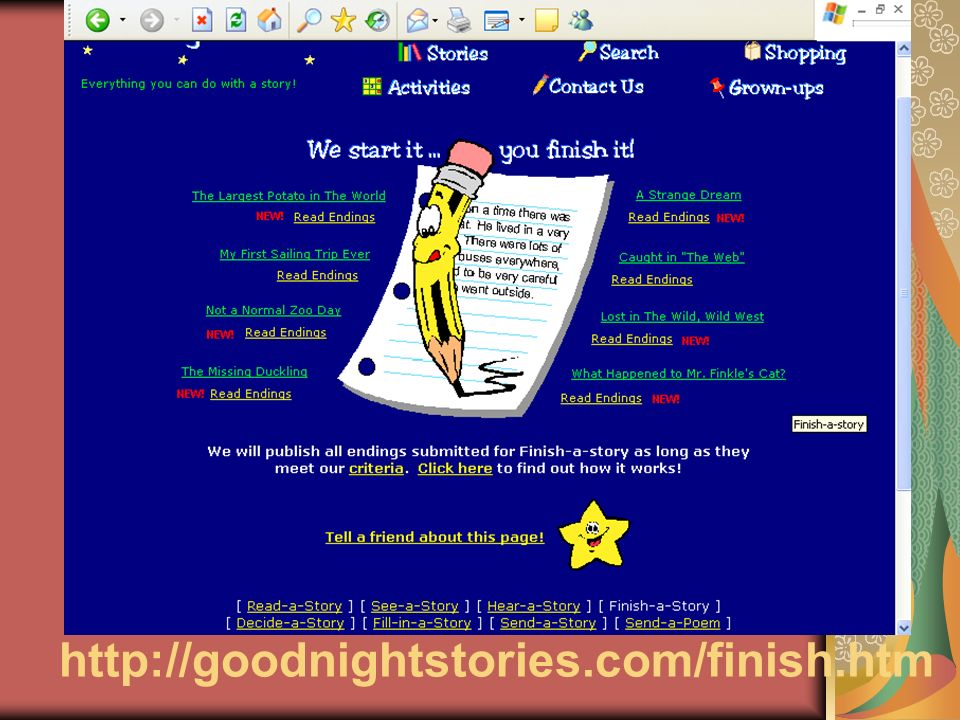 http://goodnightstories.com/finish.htm