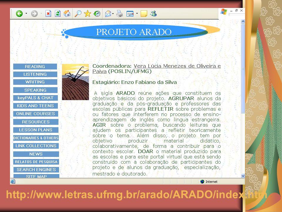 http://www.letras.ufmg.br/arado/ARADO/index.htm