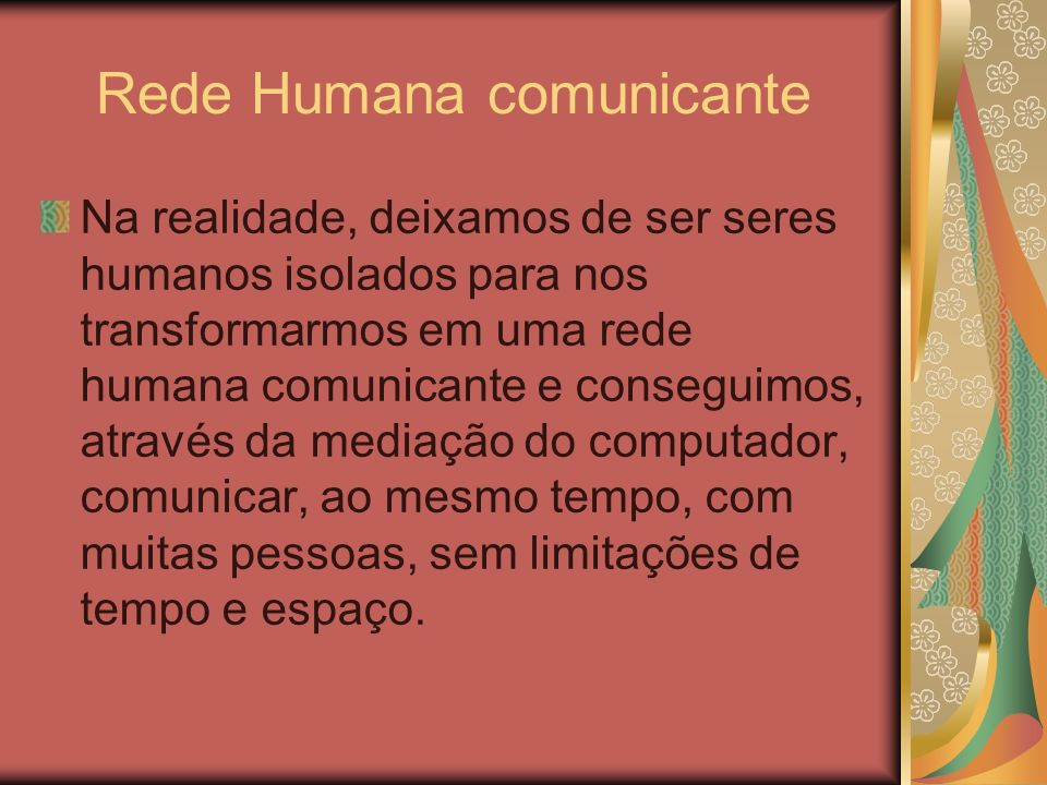 Rede Humana comunicante