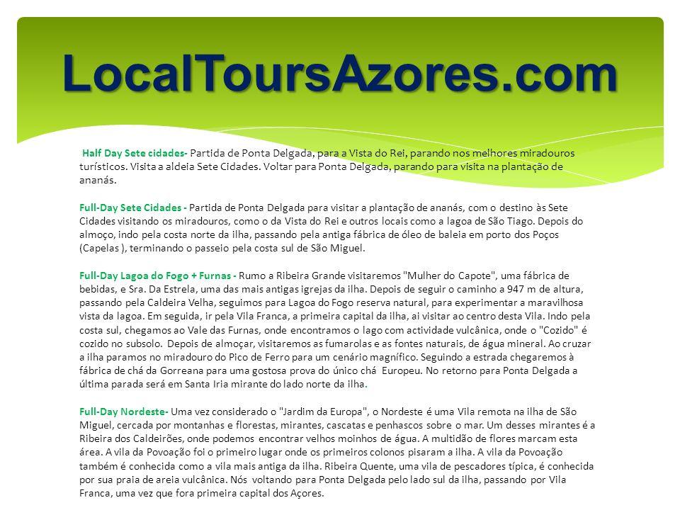 LocalToursAzores.com