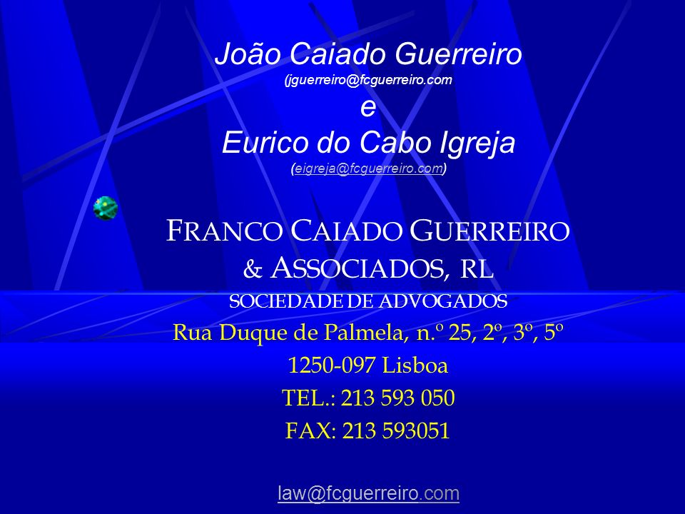 FRANCO CAIADO GUERREIRO