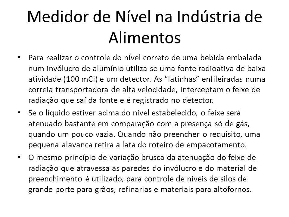 Medidor de Nível na Indústria de Alimentos