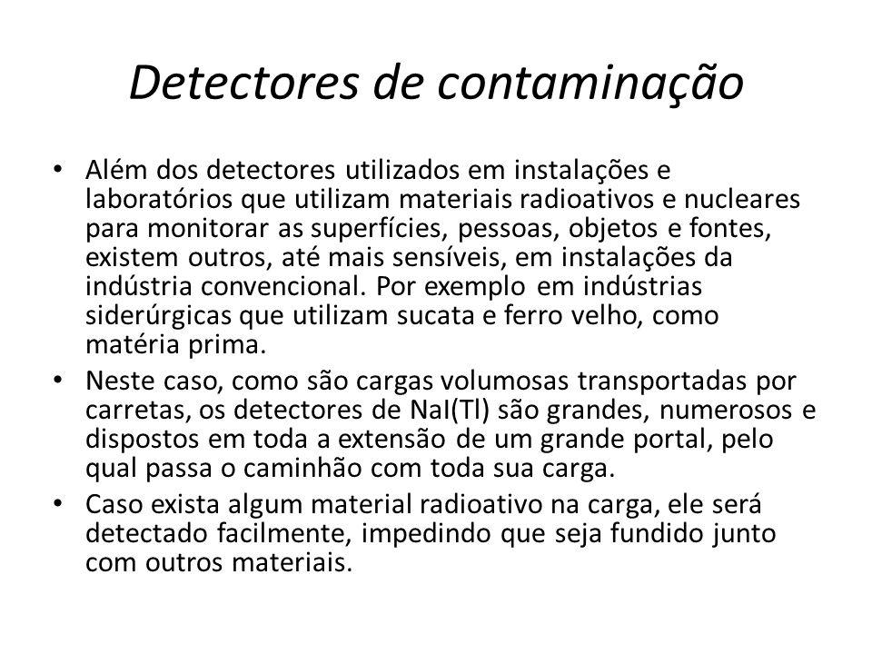 Detectores de contaminação