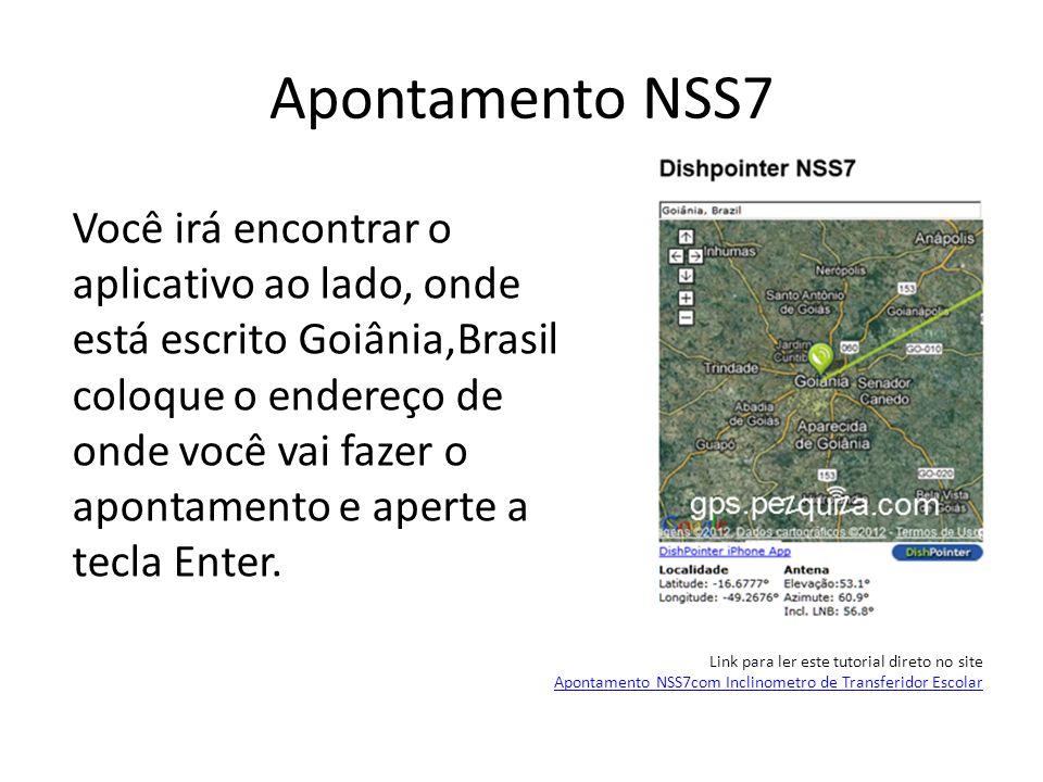 Apontamento NSS7