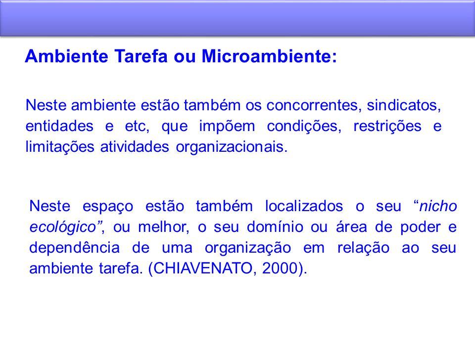 Ambiente Tarefa ou Microambiente: