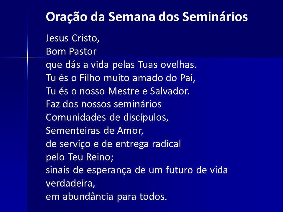 Oração da Semana dos Seminários