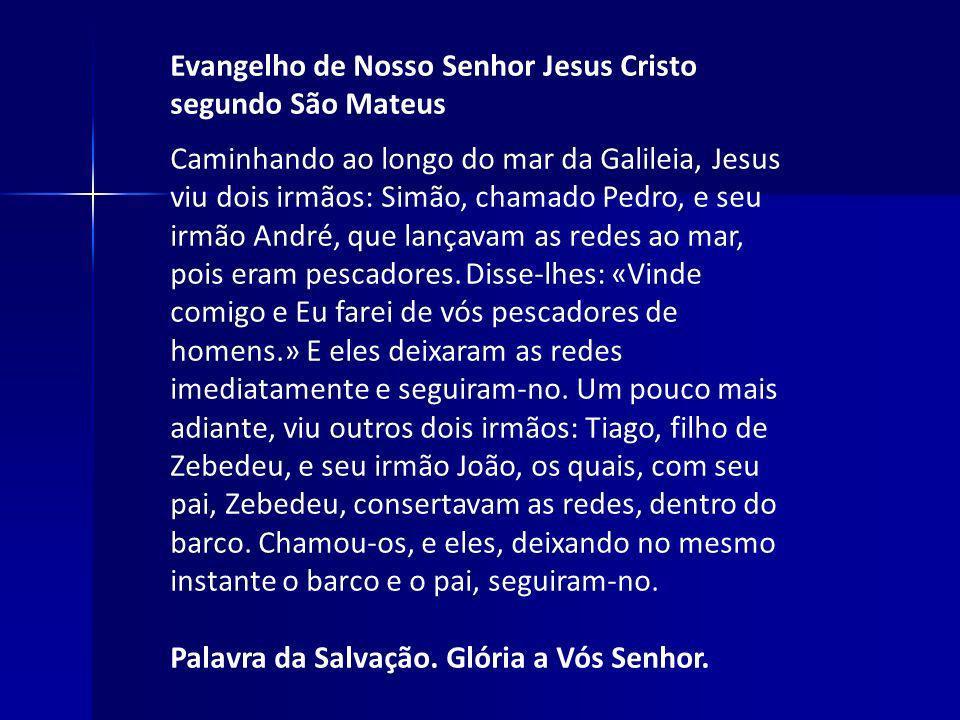 Evangelho de Nosso Senhor Jesus Cristo segundo São Mateus