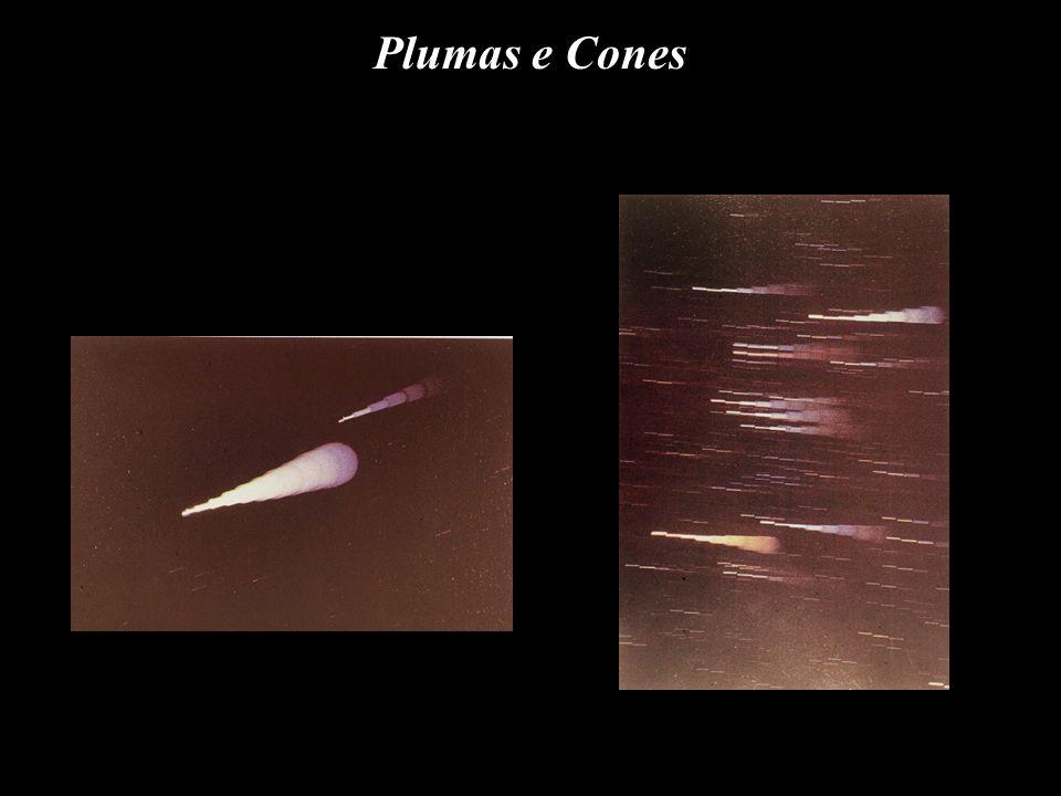 Plumas e Cones