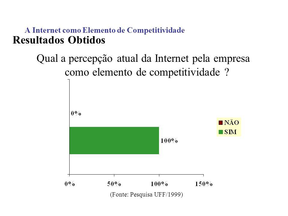 A Internet como Elemento de Competitividade