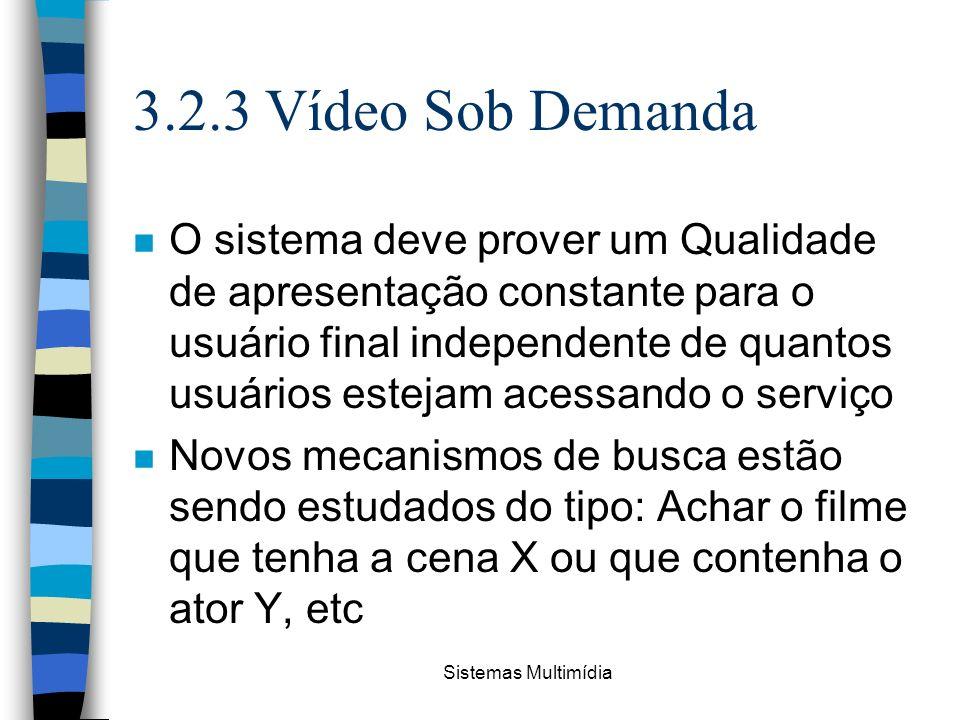 3.2.3 Vídeo Sob Demanda