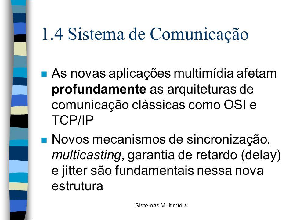 1.4 Sistema de Comunicação