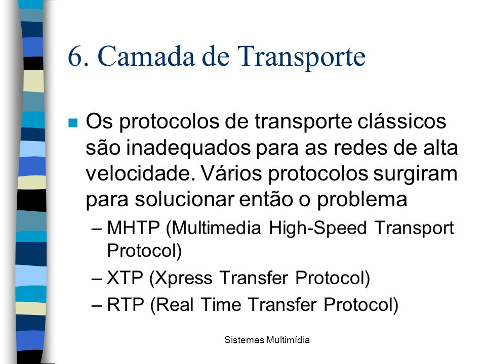6. Camada de Transporte