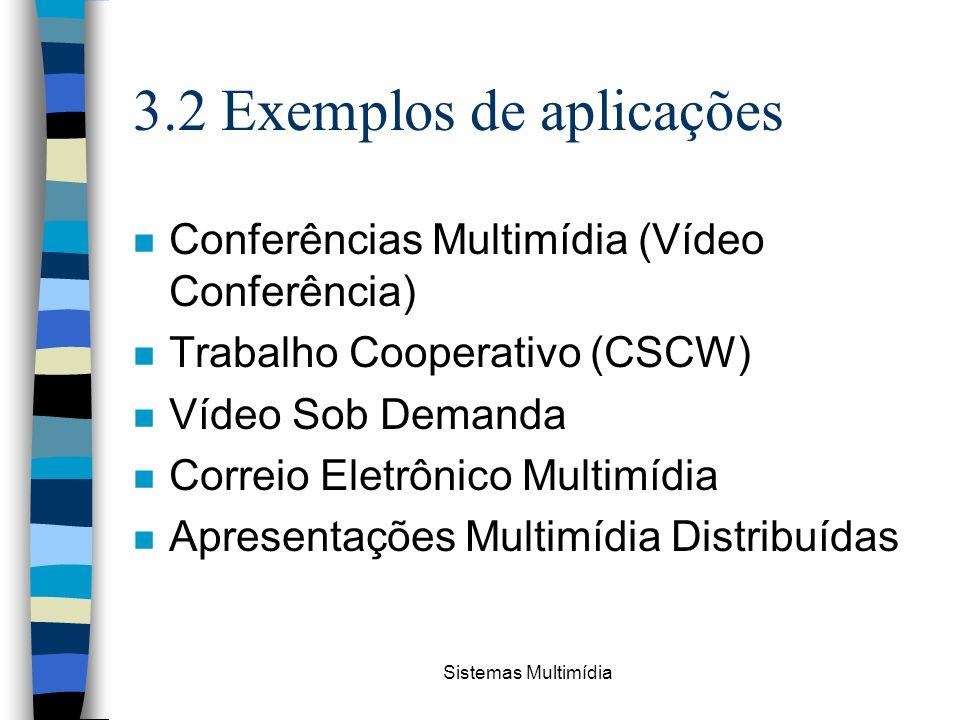 3.2 Exemplos de aplicações