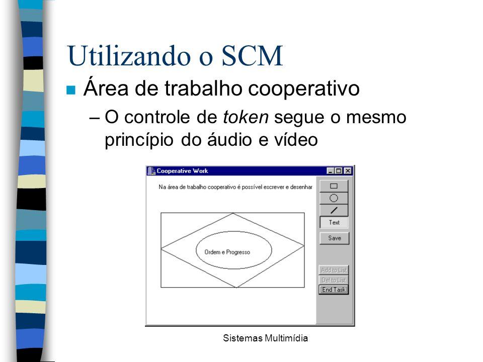 Utilizando o SCM Área de trabalho cooperativo
