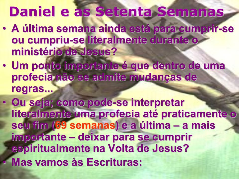 Daniel e as Setenta Semanas