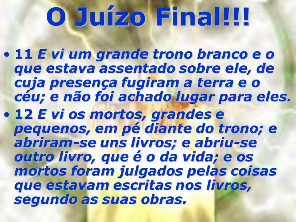 O Juízo Final!!!