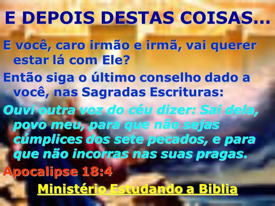 Ministério Estudando a Biblia