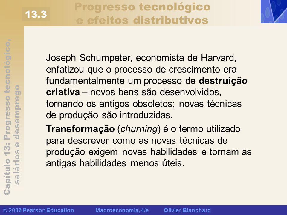 Progresso tecnológico e efeitos distributivos