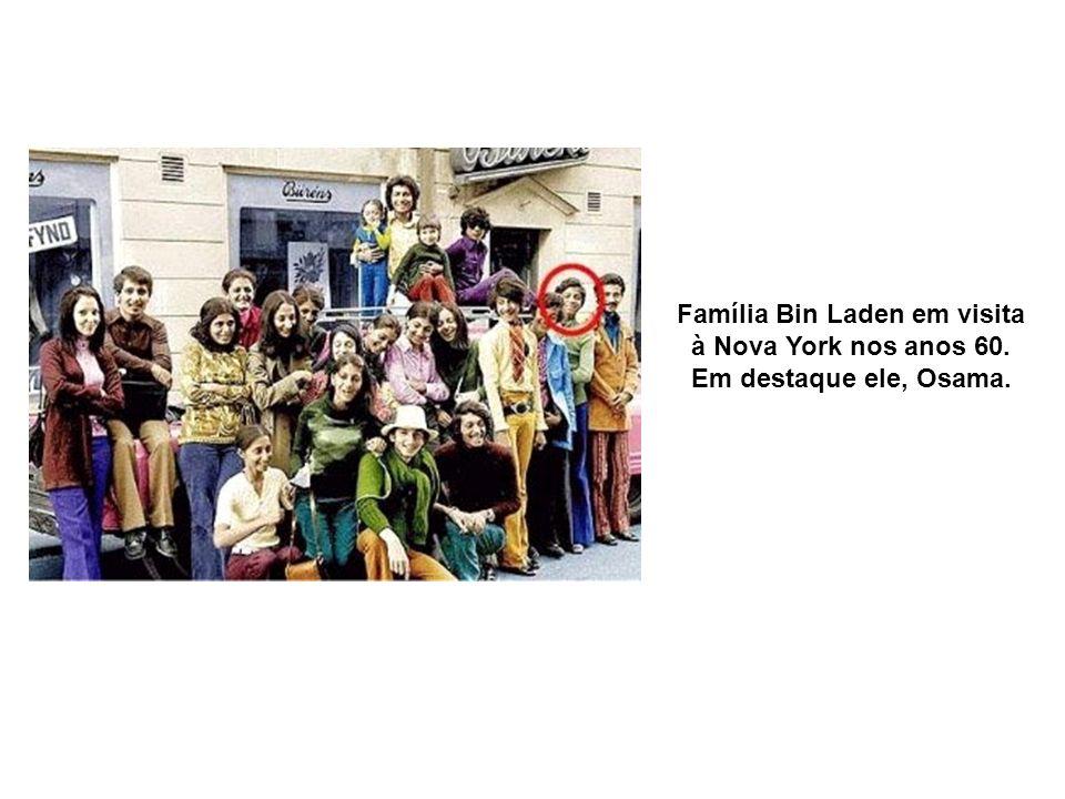 Família Bin Laden em visita à Nova York nos anos 60