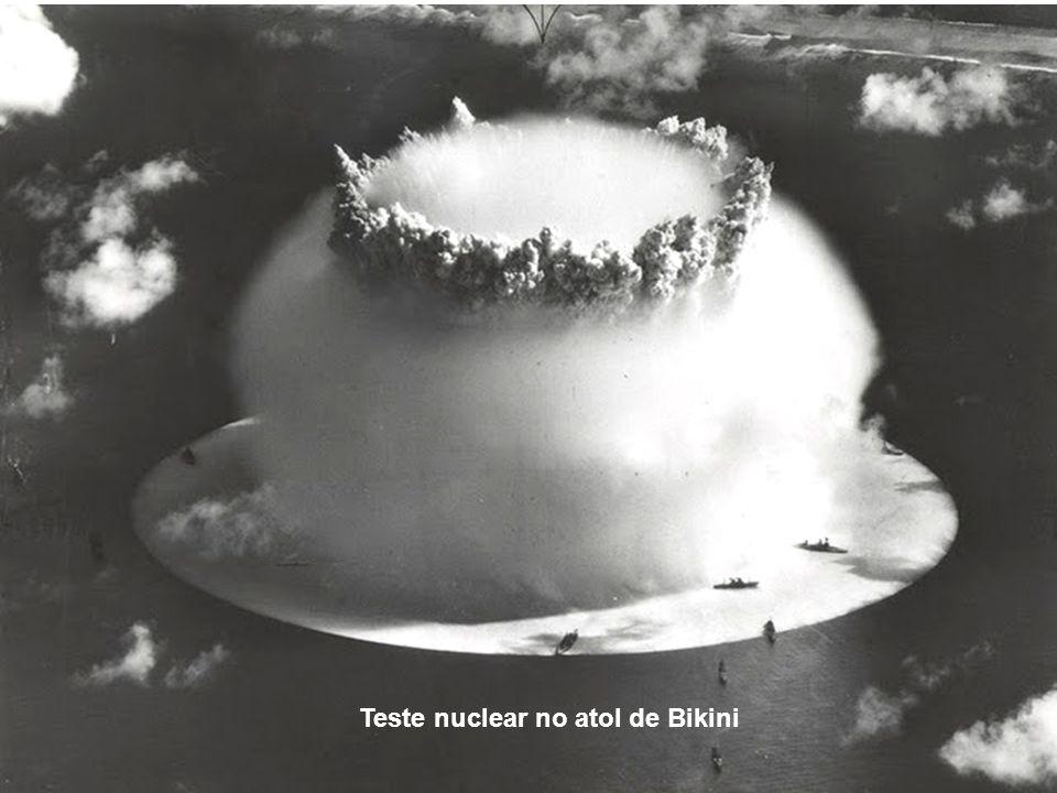 Teste nuclear no atol de Bikini
