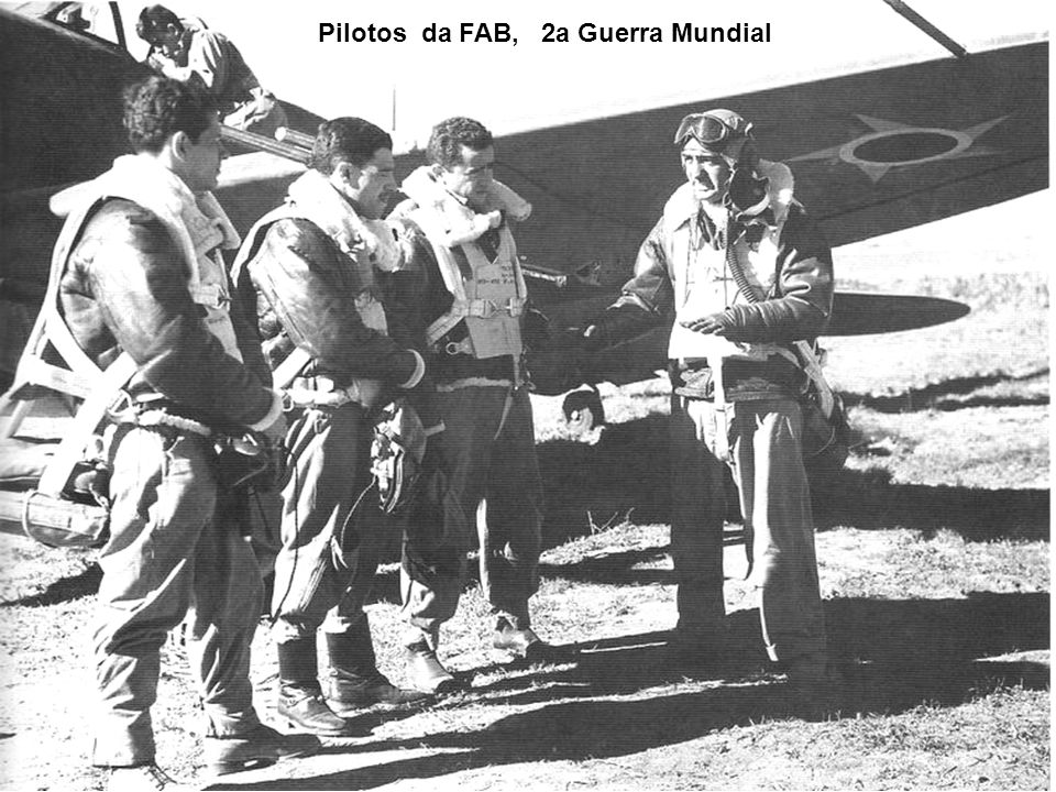 Pilotos da FAB, 2a Guerra Mundial