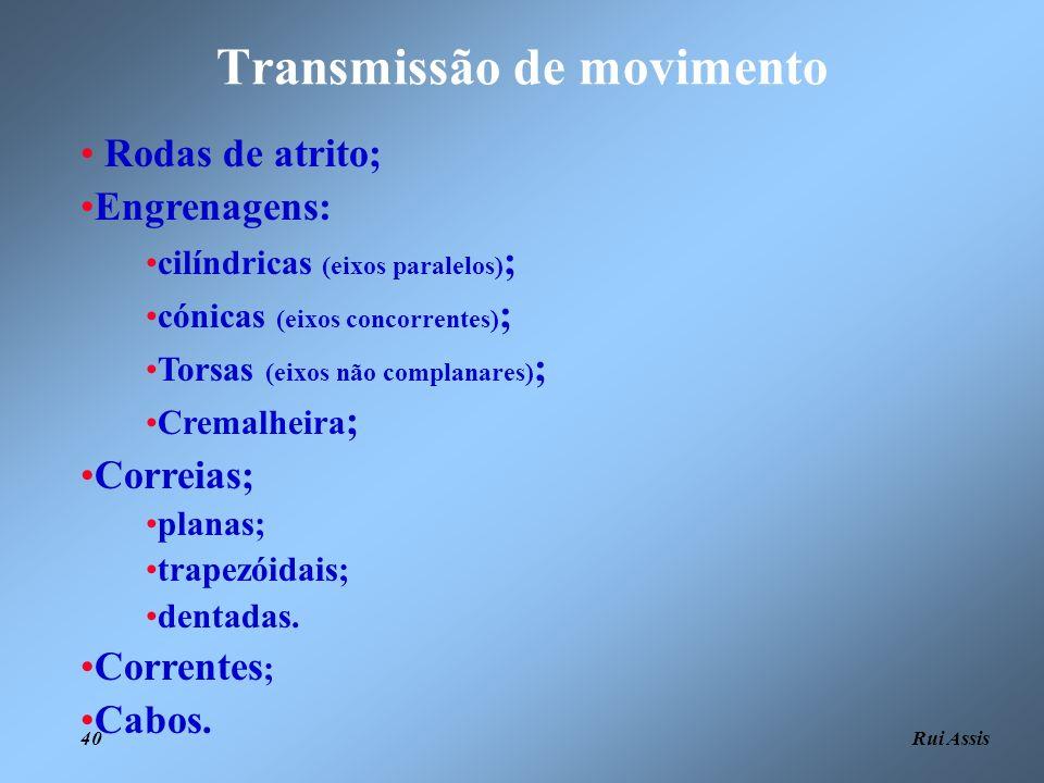 Transmissão de movimento