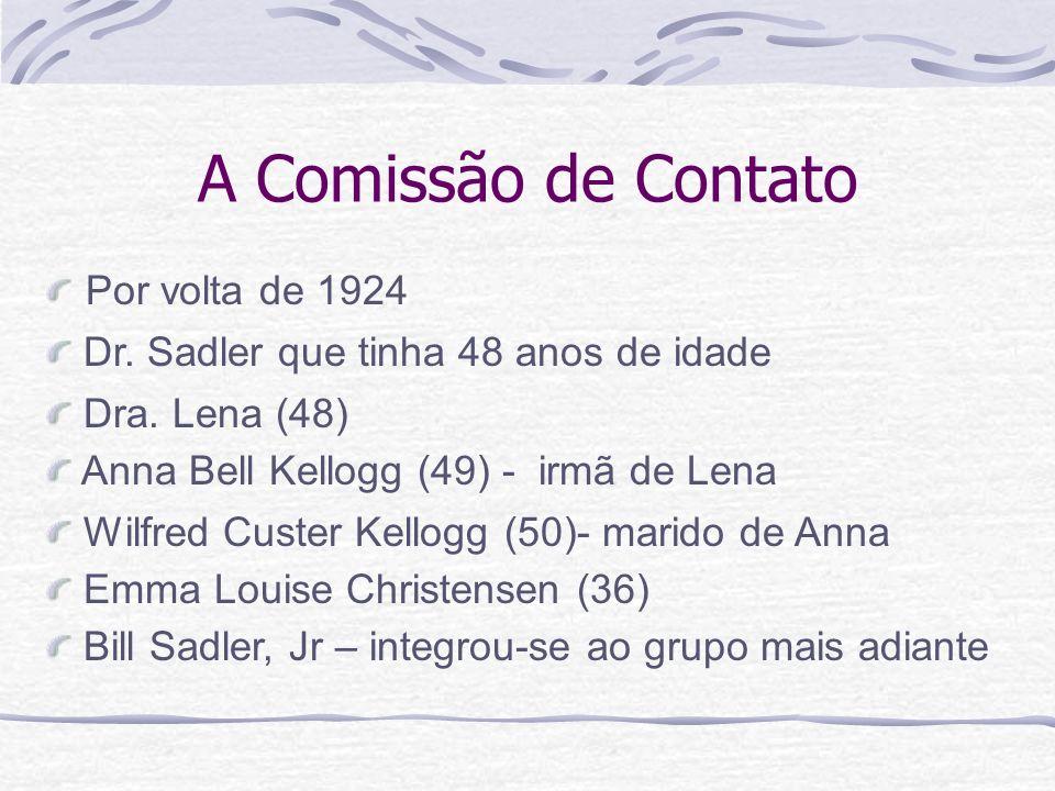 A Comissão de Contato Por volta de 1924