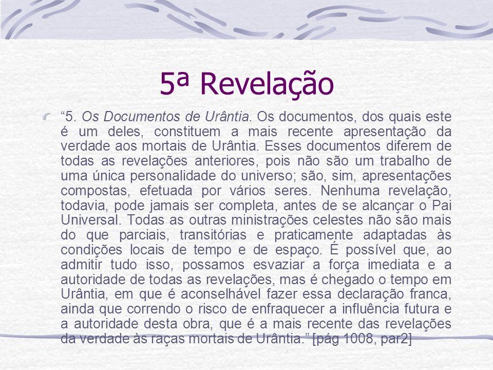5ª Revelação