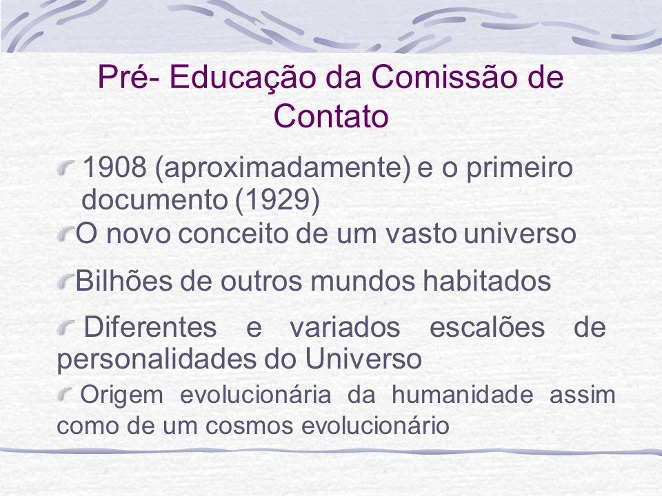 Pré- Educação da Comissão de Contato