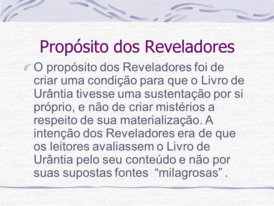 Propósito dos Reveladores