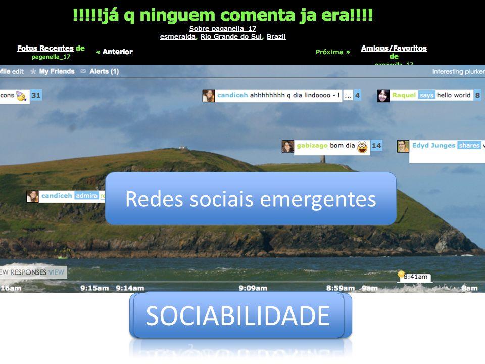 Redes sociais emergentes