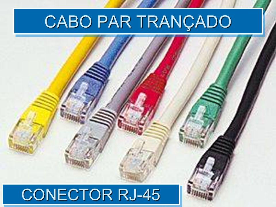 CONECTOR RJ-45 CABO PAR TRANÇADO