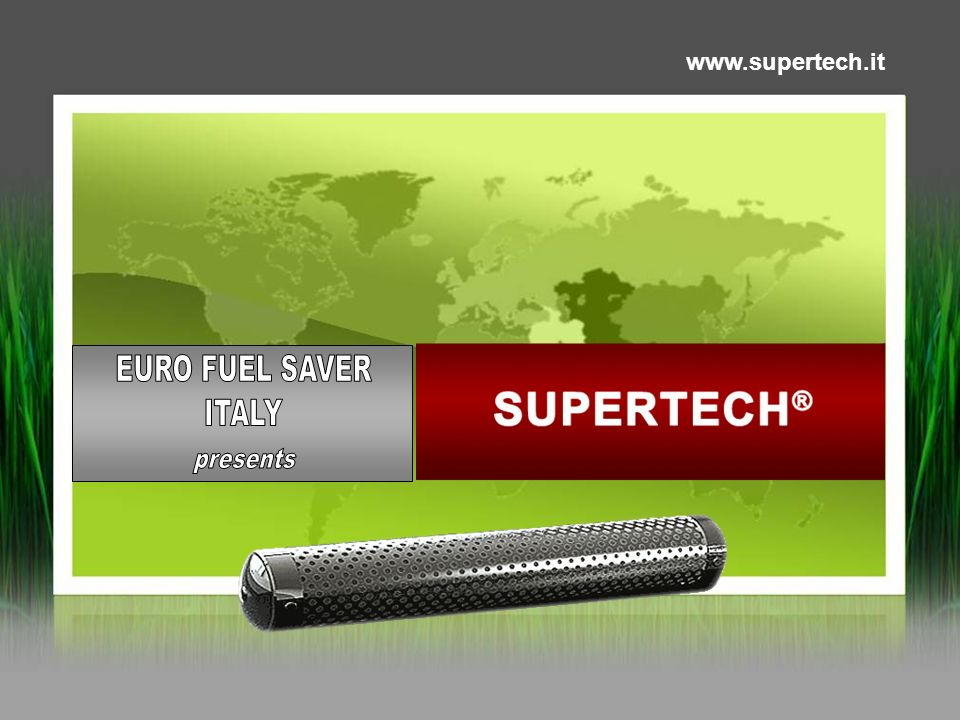 EURO FUEL SAVER ITALY presents