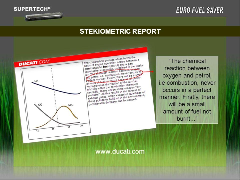 STEKIOMETRIC REPORT www.ducati.com