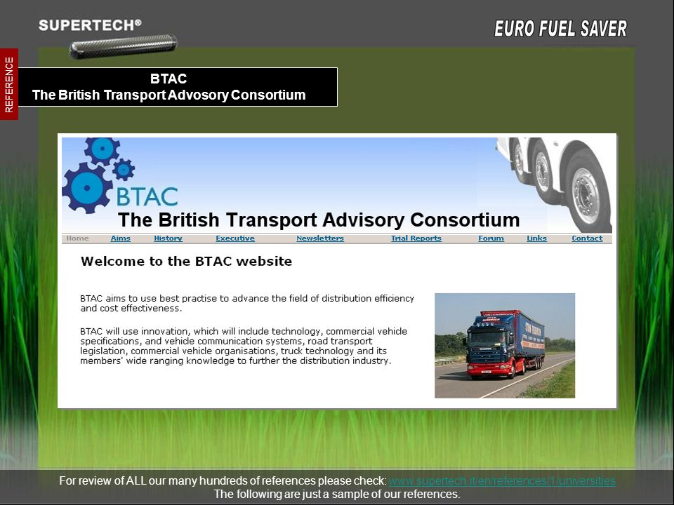 BTAC The British Transport Advosory Consortium