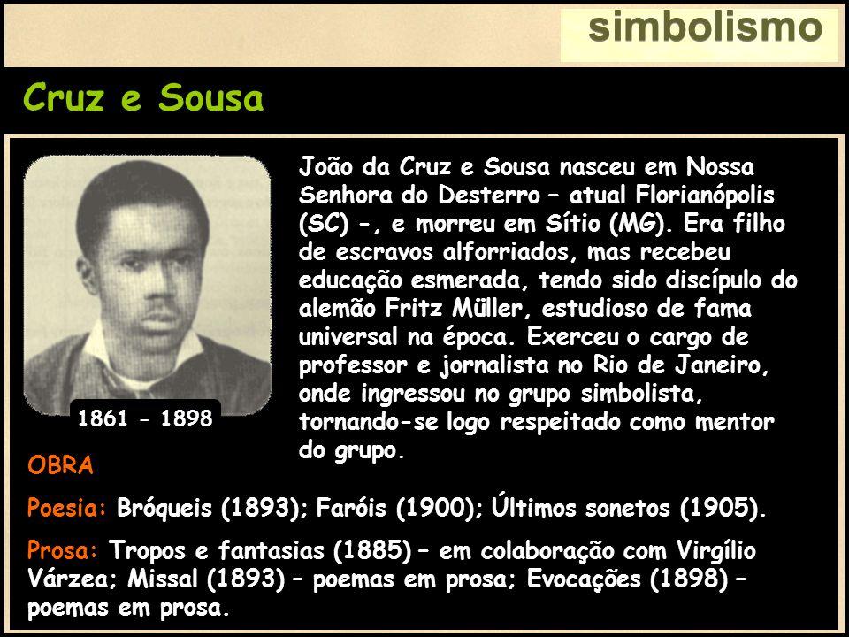 simbolismo Cruz e Sousa