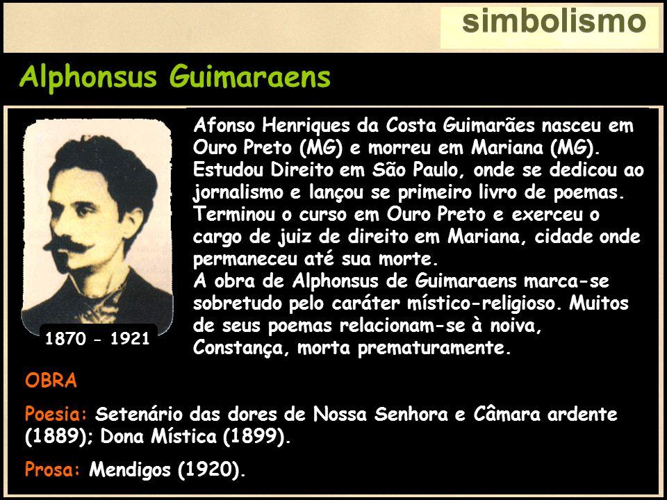 simbolismo Alphonsus Guimaraens