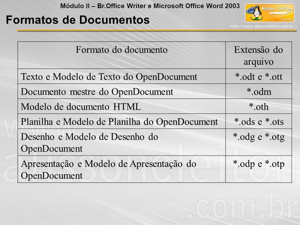 Formatos de Documentos