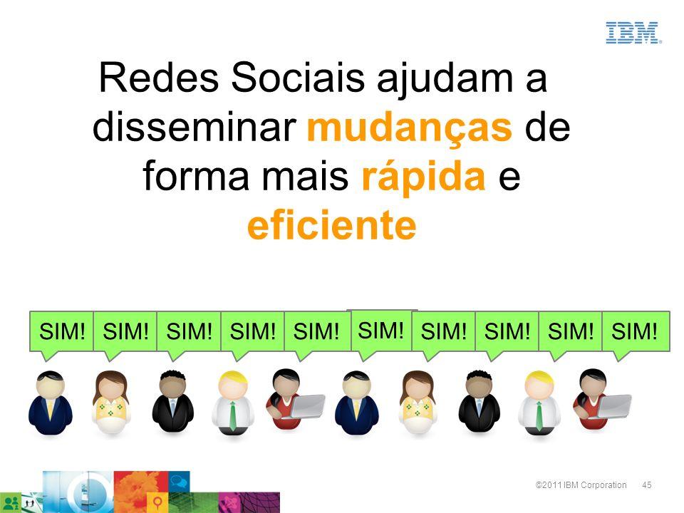 Redes Sociais ajudam a disseminar mudanças de forma mais rápida e eficiente