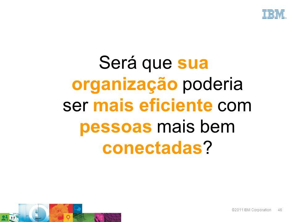 Será que sua organização poderia ser mais eficiente com pessoas mais bem conectadas