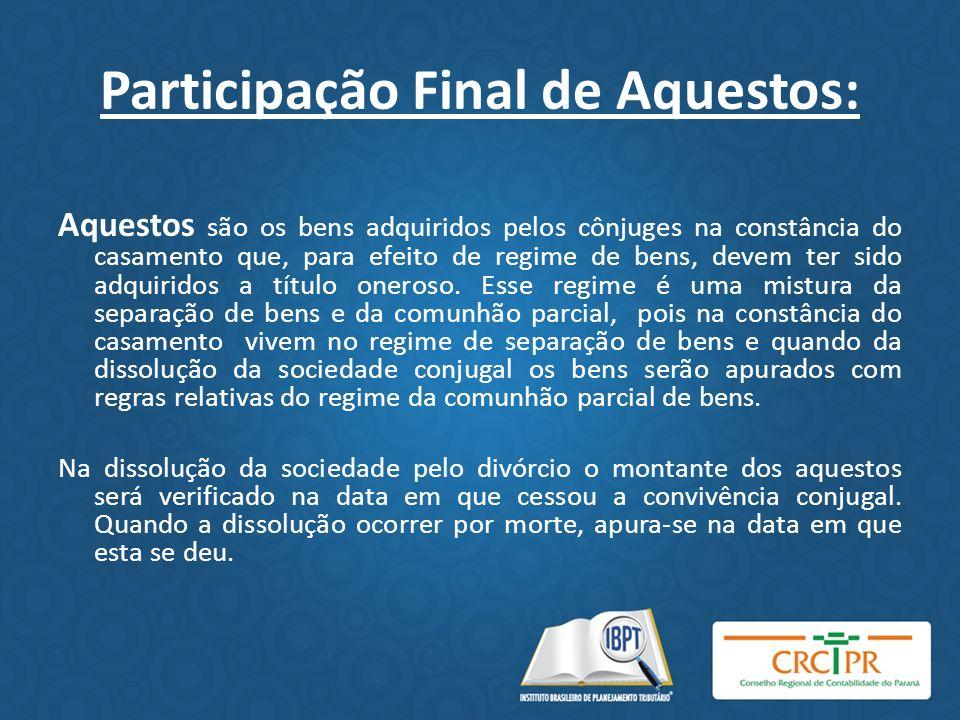Participação Final de Aquestos: