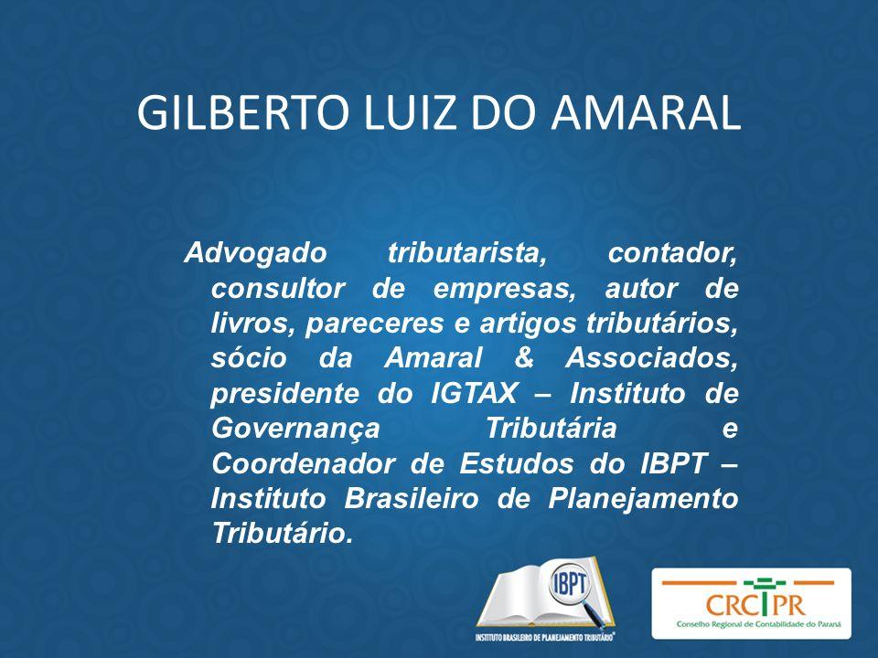 GILBERTO LUIZ DO AMARAL