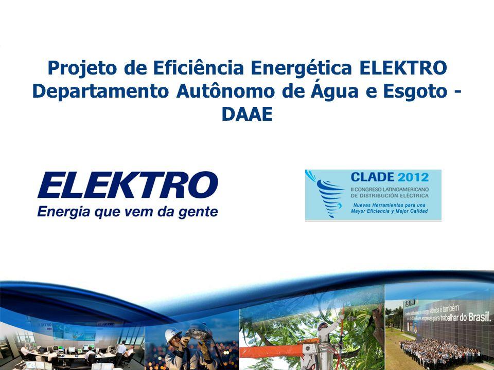 Projeto de Eficiência Energética ELEKTRO