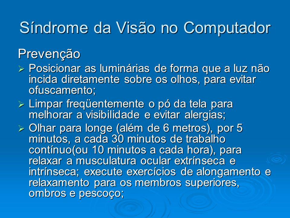 Síndrome da Visão no Computador
