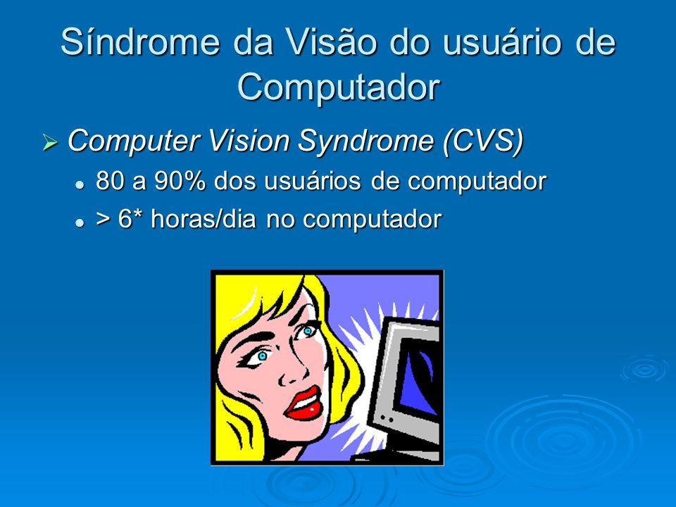 Síndrome da Visão do usuário de Computador