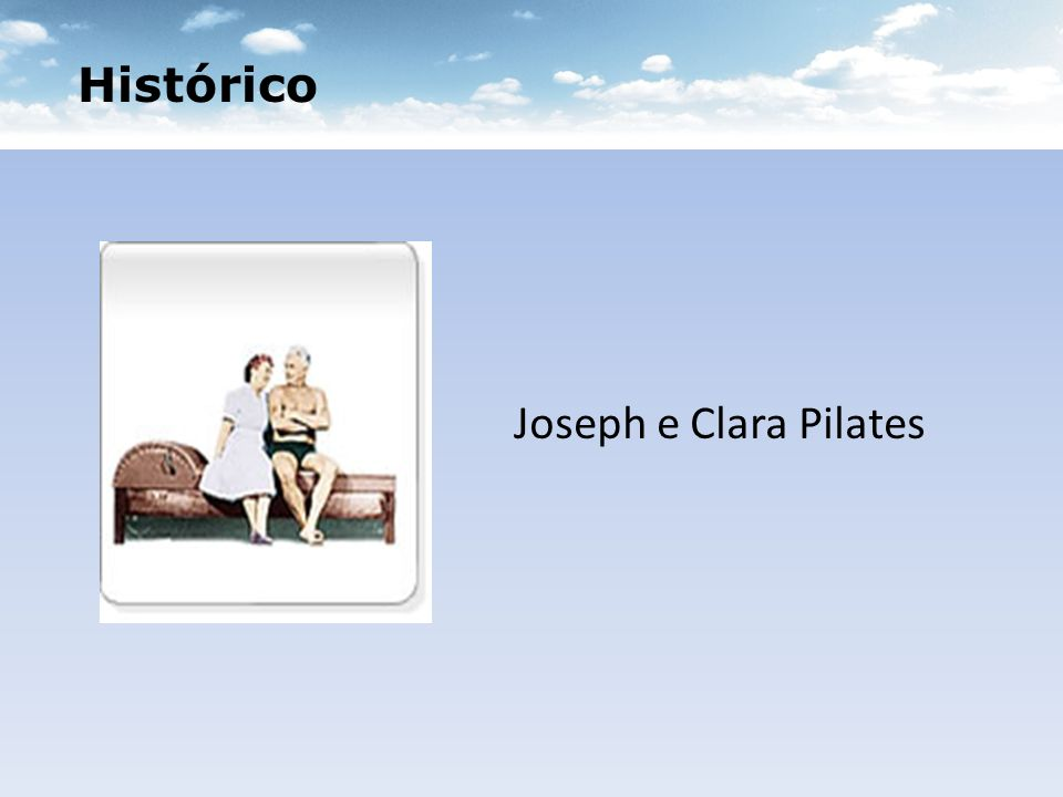 Histórico Joseph e Clara Pilates
